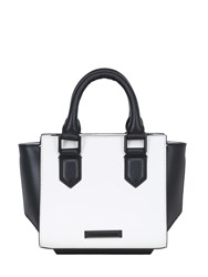 Kendall Kylie Mini Brook Two Tone Smooth Leather Bag