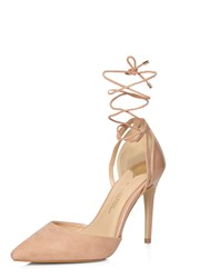 Dorothy Perkins Wide Fit Ghillie Court Pink
