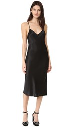 Dkny Sleeveless Slip Dress Black