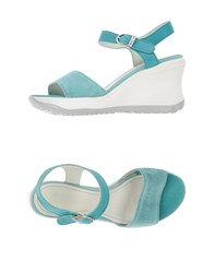 Ruco Line Footwear Sandals Women Turquoise