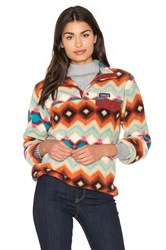 Patagonia Lightweight Synchilla Snap T Pullover Rust