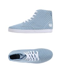 C1rca Footwear High Tops And Trainers Men Sky Blue