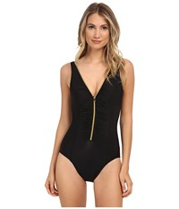 Miraclesuit Suit Yourself Blitz One Piece Black Women's Swimsuits One Piece