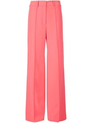 Milly High Waisted Palazzo Pants Pink And Purple