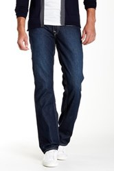 True Religion Flap Pocket Bootcut Jean Blue