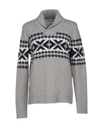 Fred Mello Sweaters Grey