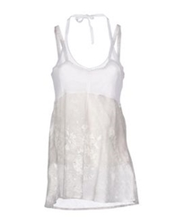 Caractere Tops White