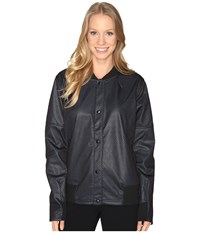 Adidas Clima Bomber Jacket Black Unity Blue Women's Coat
