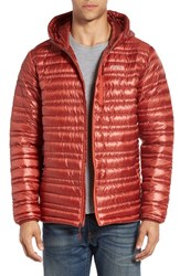 Patagonia Men's 'Ultralight' Water Repellent 800 Fill Down Puffer Jacket Cinder Red