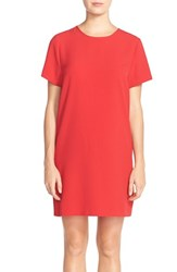 Women's Felicity And Coco Crepe Shift Dress Tango Red