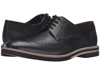 Ted Baker Archerr 2 Black Leather Men's Lace Up Wing Tip Shoes