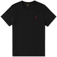 Polo Ralph Lauren Custom Fit Crew Tee Black