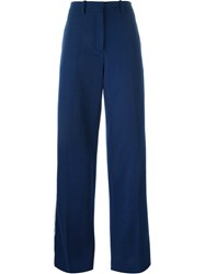 Ports 1961 Side Stripe Trousers Blue