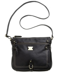 Style And Co. Precious Cargo Crossbody Black
