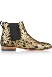 Dieppa Restrepo Troy Coated Nubuck Ankle Boots