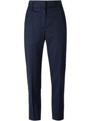 Wood Wood 'Ruby' Panelled Trousers Blue