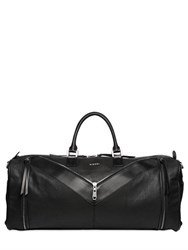 Diesel Canvas And Leather Gym Bag