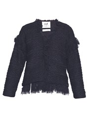Banjo And Matilda Moroccan Fringed Cardigan
