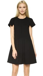 Lisa Perry Cut And Paste Dress Black