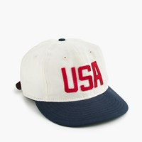 J.Crew Ebbets Field Flannels For Usa Ball Cap Natural