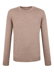 Gibson Crew Neck Merino Jumper Grey