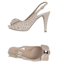 Sgn Giancarlo Paoli Sandals Beige