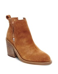 Steve Madden Sharini Suede Booties Brown