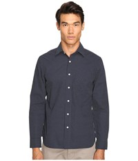 Jack Spade Grant Plus Print Point Collar Navy Men's Clothing