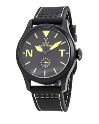 Toywatch Toy To Fly Rubber Strap Watch Black