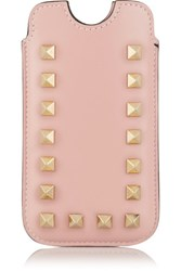 Valentino Rockstud Iphone Leather Case Pastel Pink