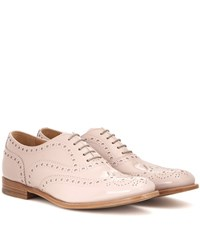 Church's Burwood Patent Leather Brogues Beige