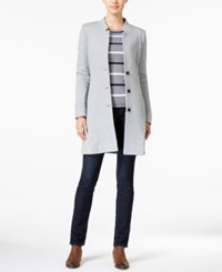 Tommy Hilfiger Sweater Coat Only At Macy's Grey