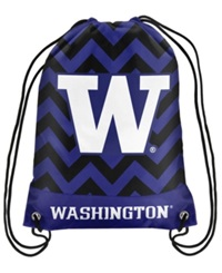 Forever Collectibles Washington Huskies Chevron Drawstring Backpack