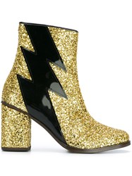 House Of Holland 'Thunder' Boots Metallic