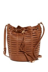 Steve Madden Leanna Horizon Bucket Bag Brown