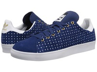 Adidas Skateboarding Stan Smith Oxford Blue White Gold Metallic Men's Skate Shoes