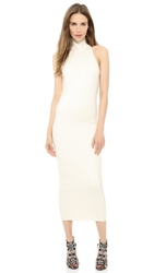 Torn By Ronny Kobo Thiadora Ponte Dress Ivory