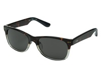 Toms Beachmaster Tortoise Crystal Fade Fashion Sunglasses Black