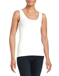 Context Seamless Tank Bleach White