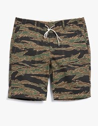 Creep By Hiroshi Awai Cotton Fatigue Shorts Camo