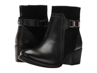 Hush Puppies Fondly Nellie Black Leather Suede Women's Boots