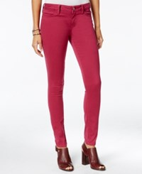 Tommy Hilfiger Sateen Colored Wash Jeggings Only At Macy's Zinfandel