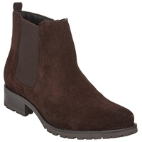 John Lewis Quinn Suede Ankle Boots Brown