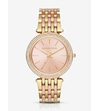 Darci Pave Gold Tone Watch