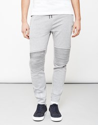 Only And Sons Fritz Quilted Joggers Grey