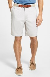 Men's Big And Tall Zero Restriction 'Links' Moisture Wicking Technical Shorts Stone
