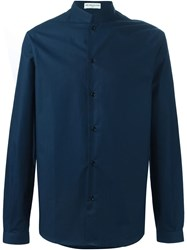 Melindagloss Imperial Collar Shirt Blue