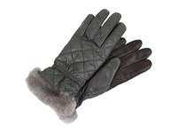 Ugg Slim Fit Quilted Fabric Smart Glove Grey Multi Extreme Cold Weather Gloves Gray