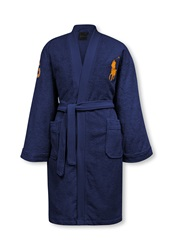 Ralph Lauren Home Big Player Bath Robe Navy