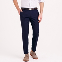 J.Crew Ludlow Traveler Suit Pant In Italian Wool Dark Navy